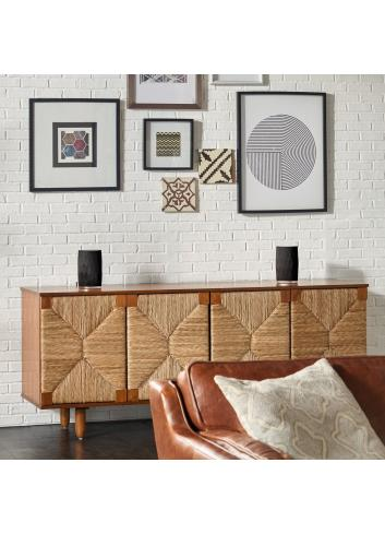 diffusore amplificato HiFi wireless,  Bowers & Wilkins Formation Flex, vista configurazione stereo, finitura Nero