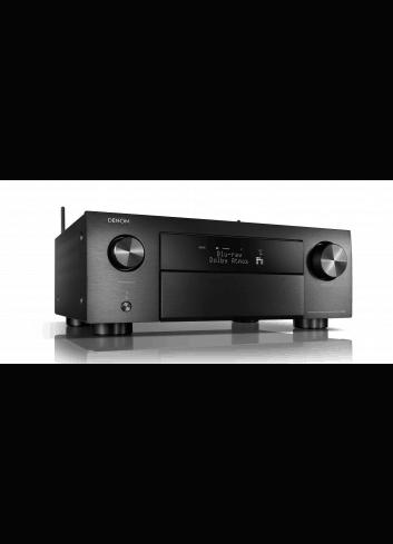 Sintoamplificatore AV 9.2 canali 4K Ultra HD con Audio 3D e HEOS, Denon AVR-X4500H, vista frontale
