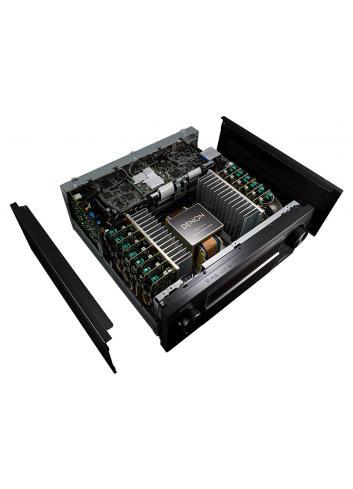 Amplificatore AV 13.2 canali 4K Ultra HD con Audio 3D e HEOS, Denon AVC-X8500H, vista costruzione