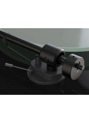 giradischi HiFi Pro-Ject T1, trazione a ginghia compreso di braccio e di testina Ortofon OM 5E, braccio