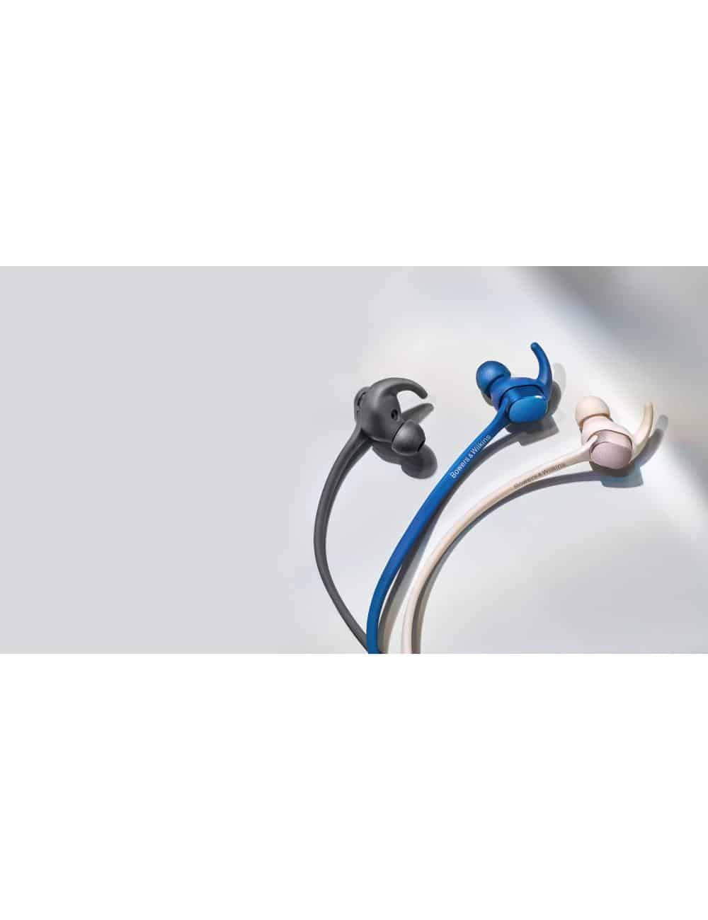 cuffie wireless senza fili Bluetooth, Bowers & Wilkins PI3, tutte le finiture