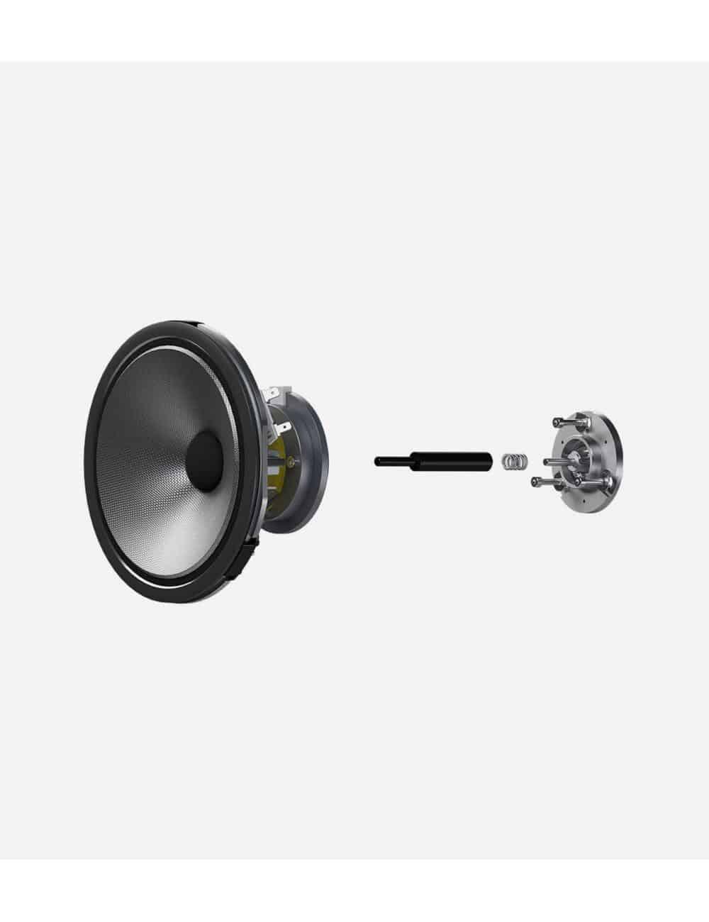 diffusori acustici da pavimento per hifi e home theater, Bowers & Wilkins 703, dettaglio driver