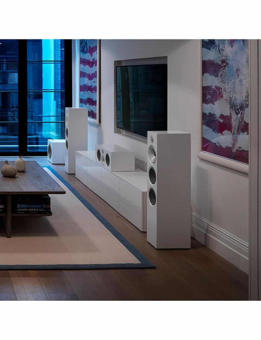 diffusori acustici da pavimento per hifi e home theater, Bowers & Wilkins 703, home cinema