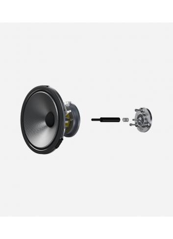 diffusori acustici da pavimento per hifi e home theater, Bowers & Wilkins 704, dettaglio driver
