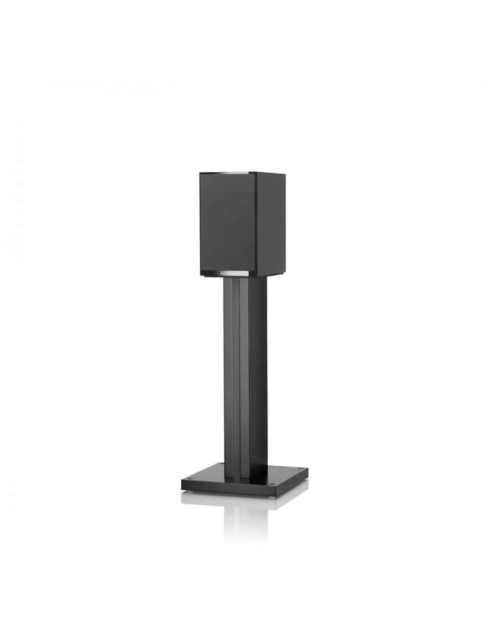 diffusori acustici da stand per hifi e home theater, Bowers & Wilkins 707, finitura nero lucido con griglia