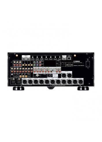 Preamplificatore AV 11.2 canali, uscite bilanciate, 4K Ultra HD con Audio 3D, Yamaha CX-5200, vista connessioni