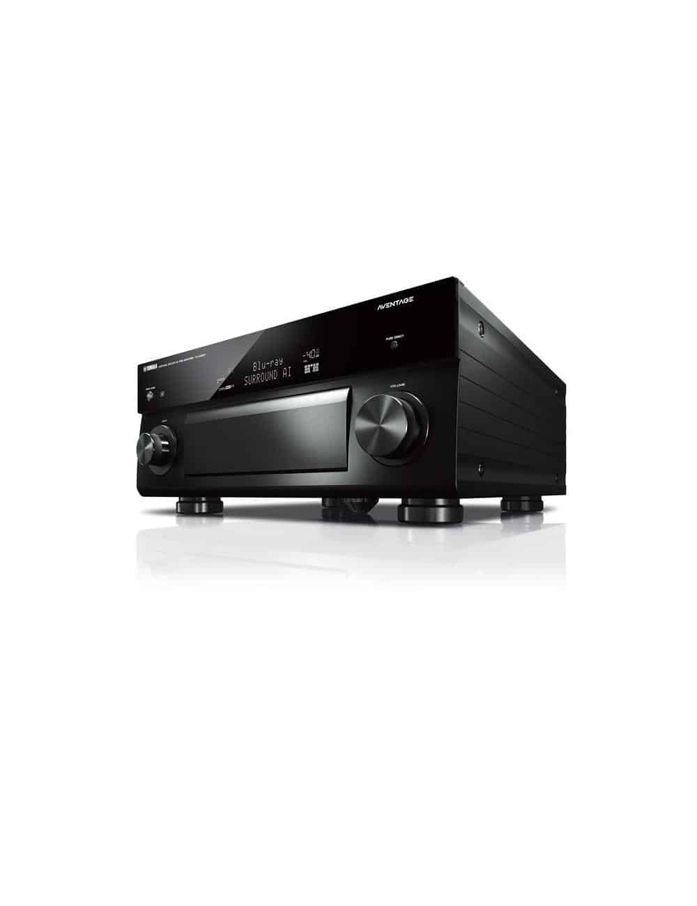 Preamplificatore AV 11.2 canali, uscite bilanciate, 4K Ultra HD con Audio 3D, Yamaha CX-5200, nero