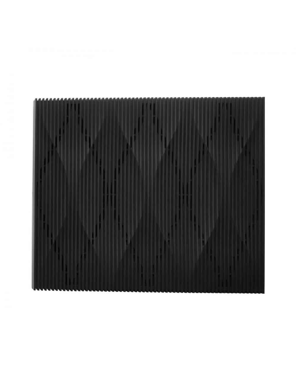 streamer musicale audiofilo HiFi wireless,  Bowers & Wilkins Formation Audio, vista superiore, finitura Nero