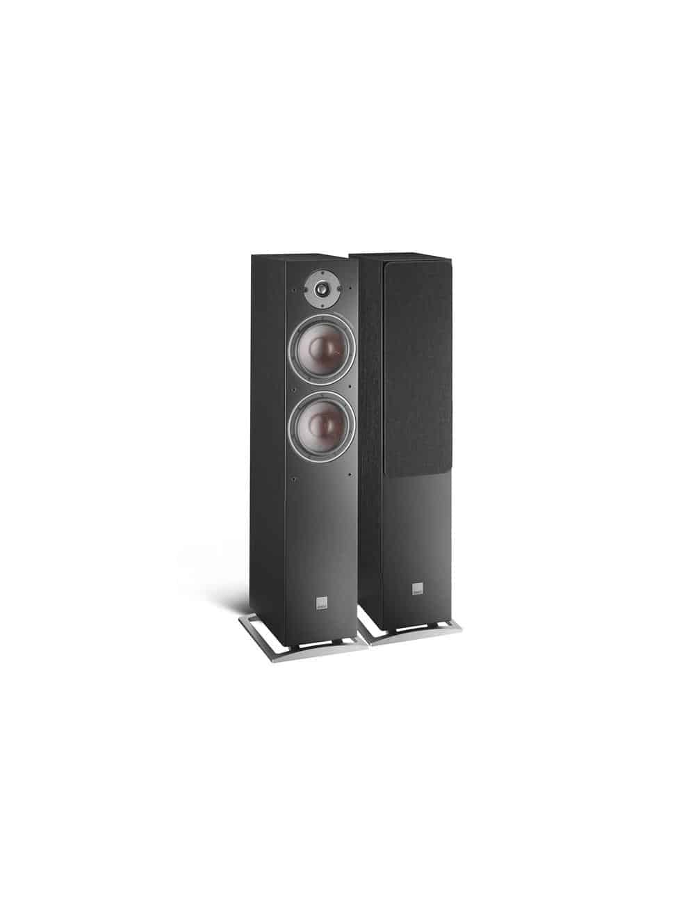 diffusori acustici da pavimento Dali Oberon 7 per HiFi e Home Cinema, finitura nero