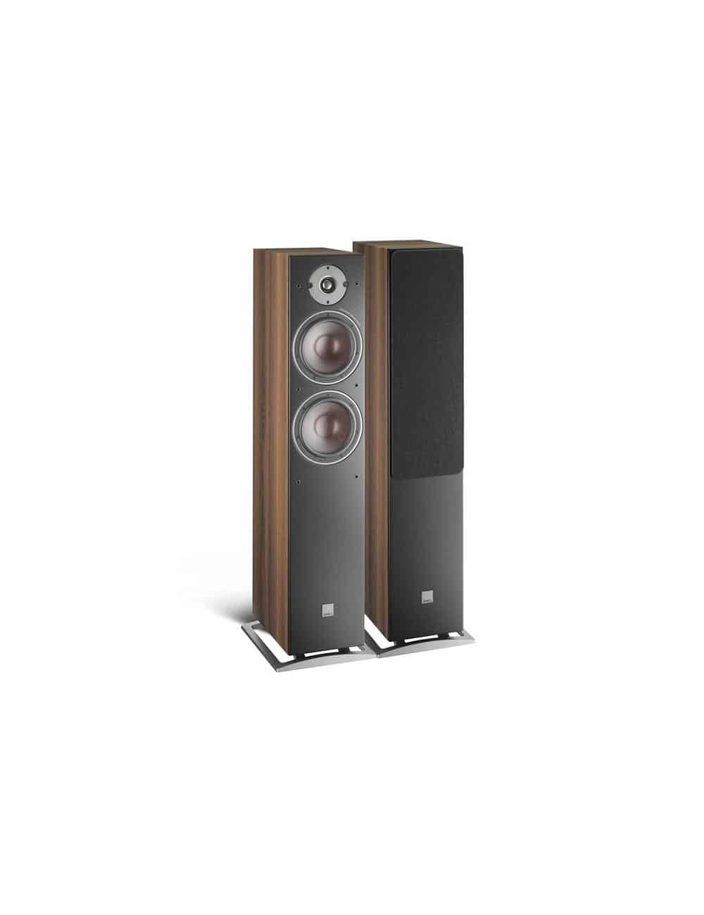 diffusori acustici da pavimento Dali Oberon 7 per HiFi e Home Cinema, finitura walnut