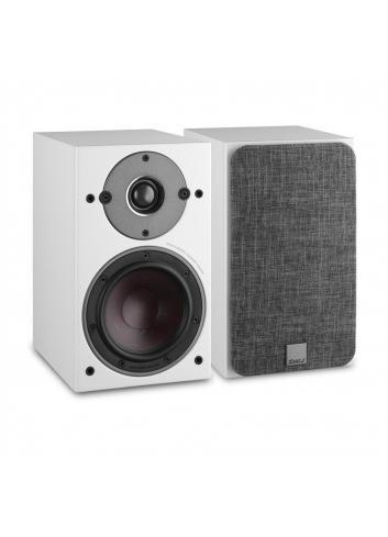 diffusori acustici compatti da stand o scaffale Dali Oberon 3 per HiFi e Home Cinema, finitura bianca