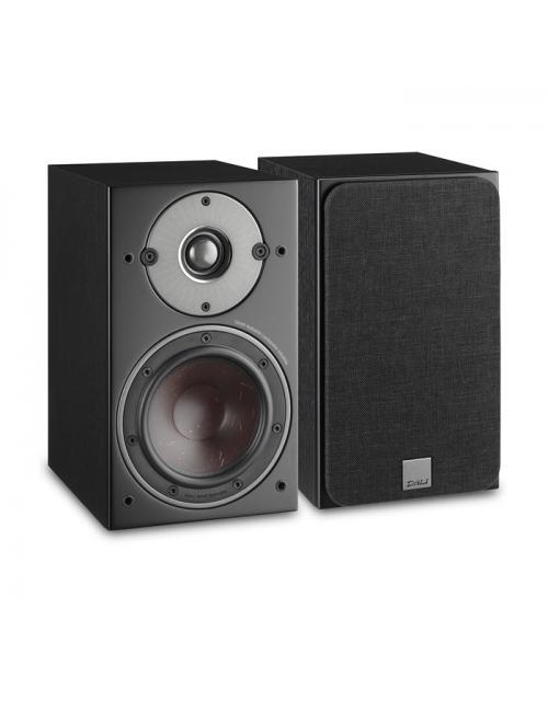 diffusori acustici compatti da stand o scaffale Dali Oberon 3 per HiFi e Home Cinema, finitura nera