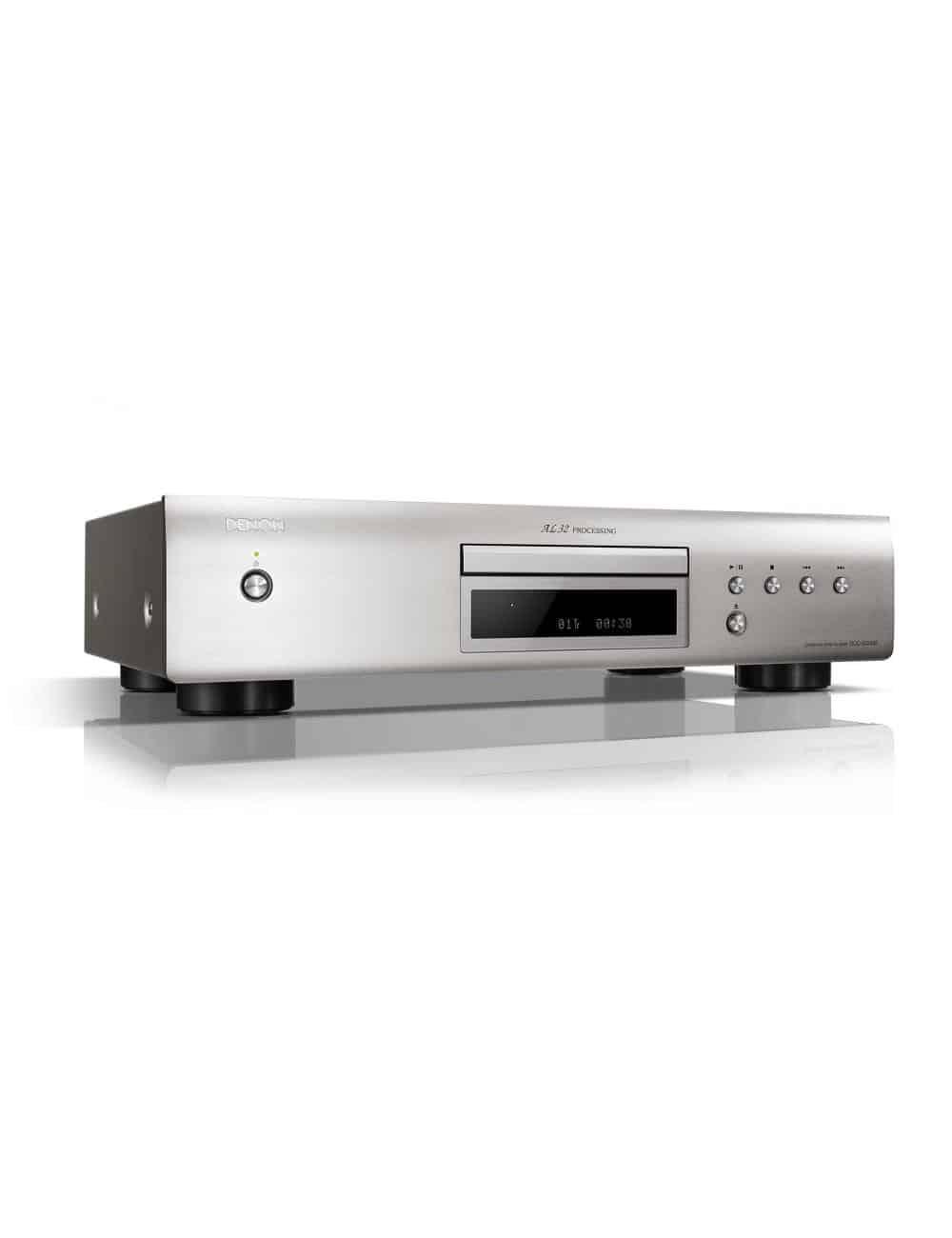 Lettore CD HiFi, Denon DCD-600NE, finitura Premium Silver