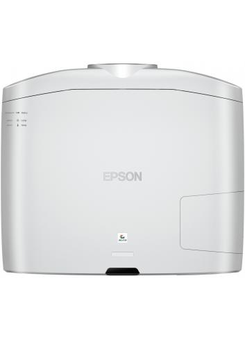 Proiettore UHD HDR wireless per Home Cinema, Epson EH-TW9400W, finitura white vista da sopra