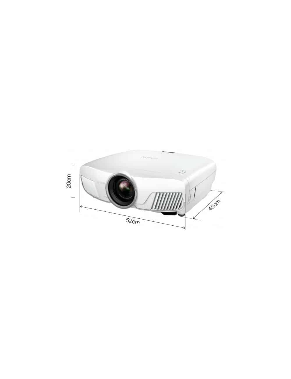 Proiettore UHD HDR wireless per Home Cinema, Epson EH-TW9400W, finitura white, misure