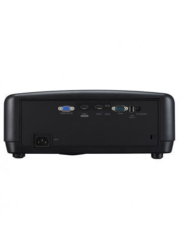 Proiettore laser 4K HDR per Home Cinema, JVC DLA-N5, pannello posteriore, finitura black