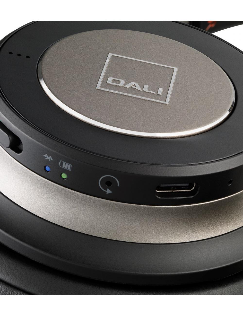 Cuffie over-ear HiFi Bluetooth super confortevoli e con cancellazione del rumore (ANC), DALI IO-6, dettaglio
