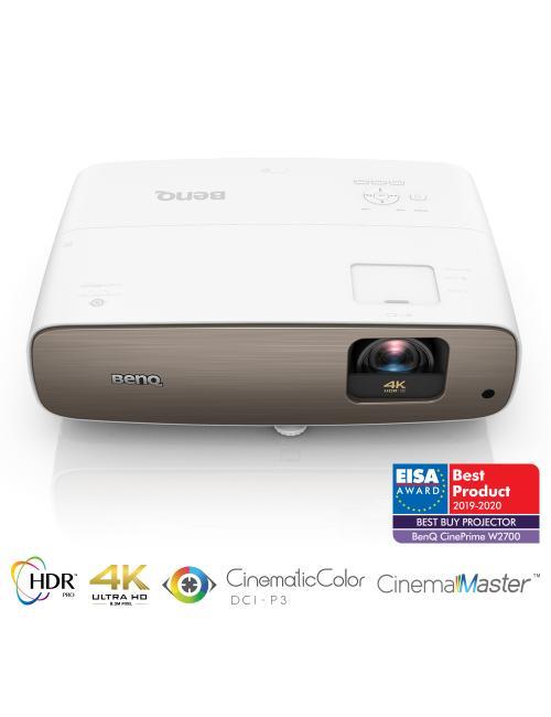 Videoproiettore Home Cinema BenQ W2700 True 4K con DCI-P3/Rec.709, UHD e HDR-PRO