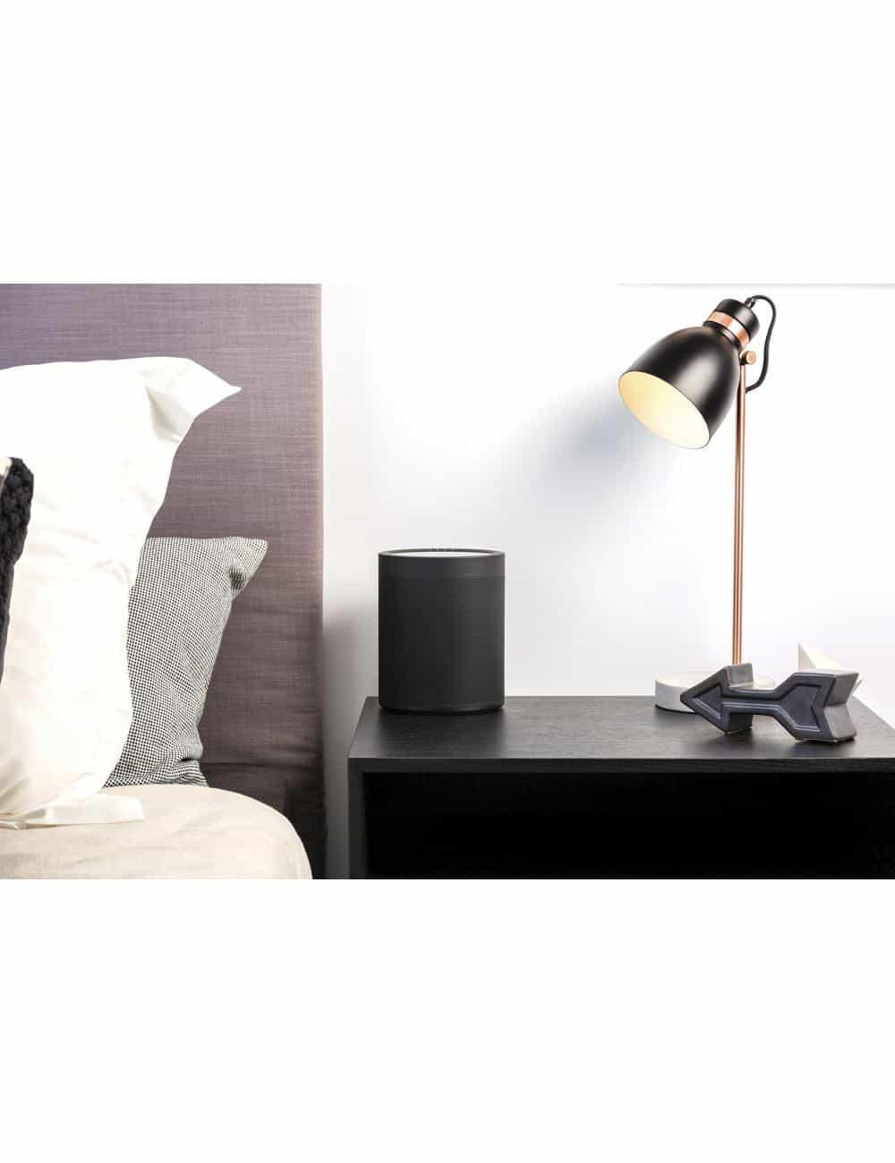 Diffusore amplificato wireless streaming, Yamaha MusicCast 20,  finitura nero, in ambiente