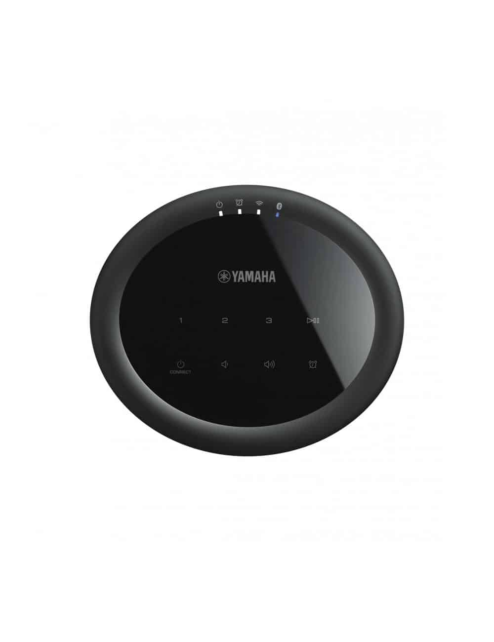 Diffusore amplificato wireless streaming, Yamaha MusicCast 20,  finitura nero, vista superiore