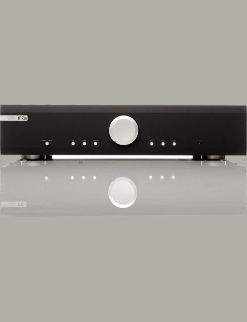 amplificatore integrato HiFi Musical Fidelity M2si, vista frontale, finitura Black