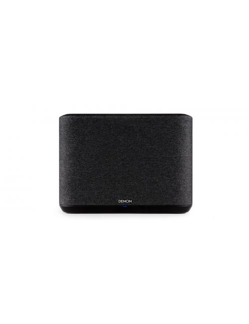 altoparlante wireless supercompatto, Denon Home 250, heos multiroom, bluetooth, finitura tessuto nero