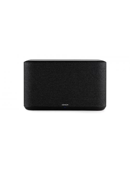 altoparlante wireless supercompatto, Denon Home 350, heos multiroom, bluetooth, finitura tessuto nero