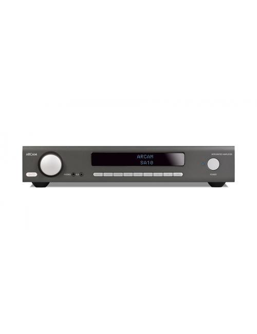Arcam SA10, amplificatore integrato con stadio phono ed ingressi digitali, 50W per canale