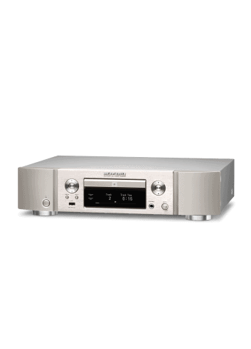 lettore cd e di rete HiFi Marantz ND8006 a due canali con HEOS streaming, finitura Silver Gold