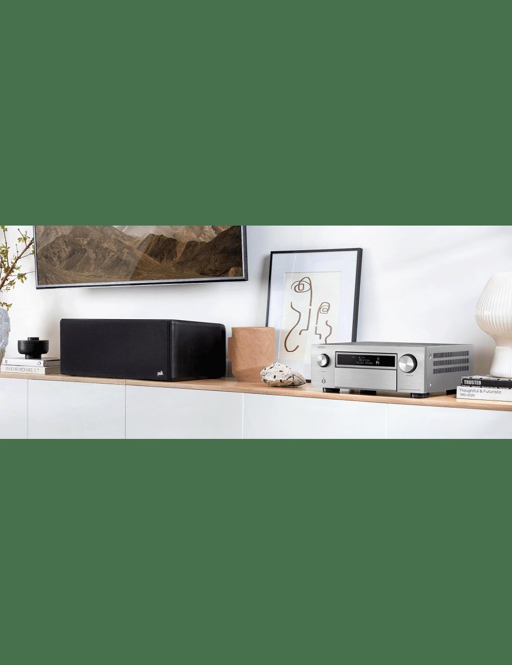 Sintoamplificatore AV 11.2 canali 8K Ultra HD con Audio 3D e HEOS, Denon AVR-X6700H, lifestyle, finitura Silver