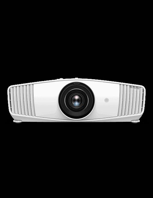 Proiettore Home Cinema con risoluzione True 4K HDR, BenQ W5700S, finitura bianco, vista frontale