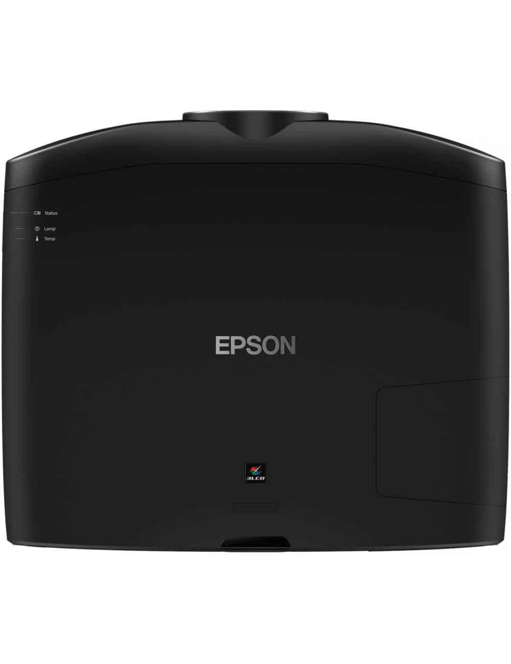 Proiettore UHD HDR per Home Cinema, Epson EH-TW9400, finitura black, vista superiore