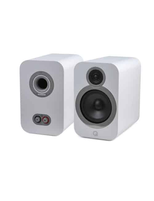 diffusori da scaffale a 2 vie HiFI e Home Cinema, Q Acoustics 3030i, finitura Arctic White