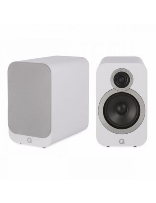 diffusori da scaffale a 2 vie HiFI e Home Cinema, Q Acoustics 3020i, finitura Arctic White