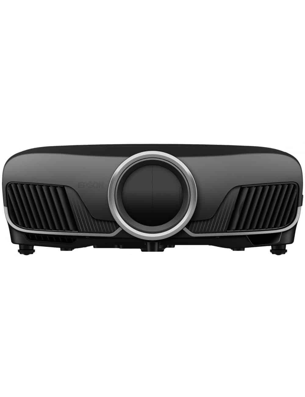 Proiettore UHD HDR per Home Cinema, Epson EH-TW9400, finitura black, obbiettivo chiuso