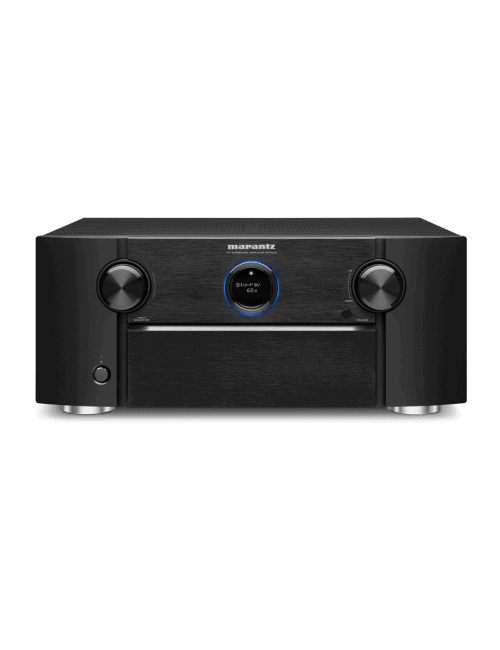 Amplificatore AV Marantz SR7015 a 9.2 Canali 8K Ultra HD con HEOS, finitura Black