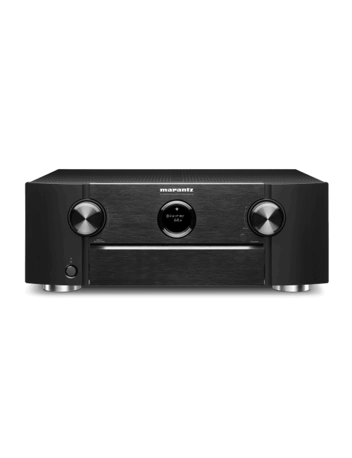 Amplificatore audio video Marantz SR6015 a 9.2 Canali 8K Ultra HD con HEOS, finitura Black