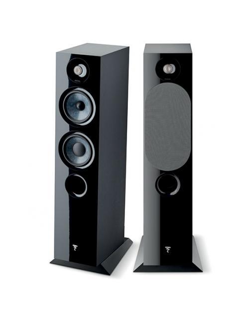 diffusori acustici da pavimento HiFi e Home Cinema, Focal Chora 816, finitura Black