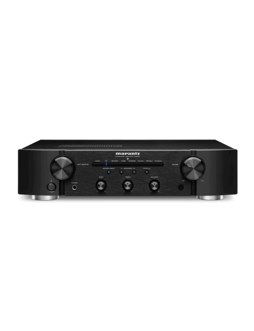 amplificatore integrato con connettività digitale HiFi Marantz PM6007 a due canali, finitura Black