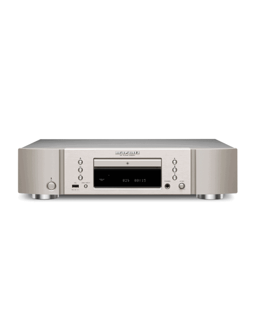 lettore di CD e conversione DA HiFi Marantz CD6007, finitura Silver Gold