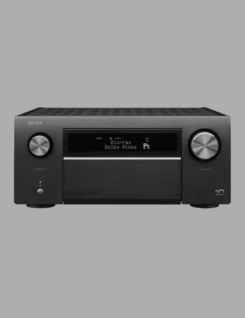 Amplificatore AV di riferimento, 13.2 canali 8K Ultra HD con Audio 3D e HEOS, Denon AVC-A110