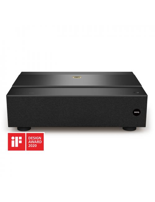Proiettore Home Cinema Laser a tiro ultra corto, risoluzione True 4K HDR, BenQ W5700S, finitura nero, vista frontale