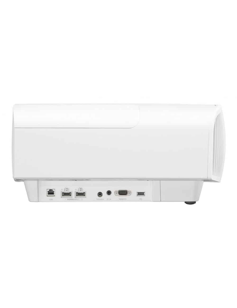 Proiettore 4K HDR per Home Cinema, Sony VPL-VW270ES, finitura white, vista laterale