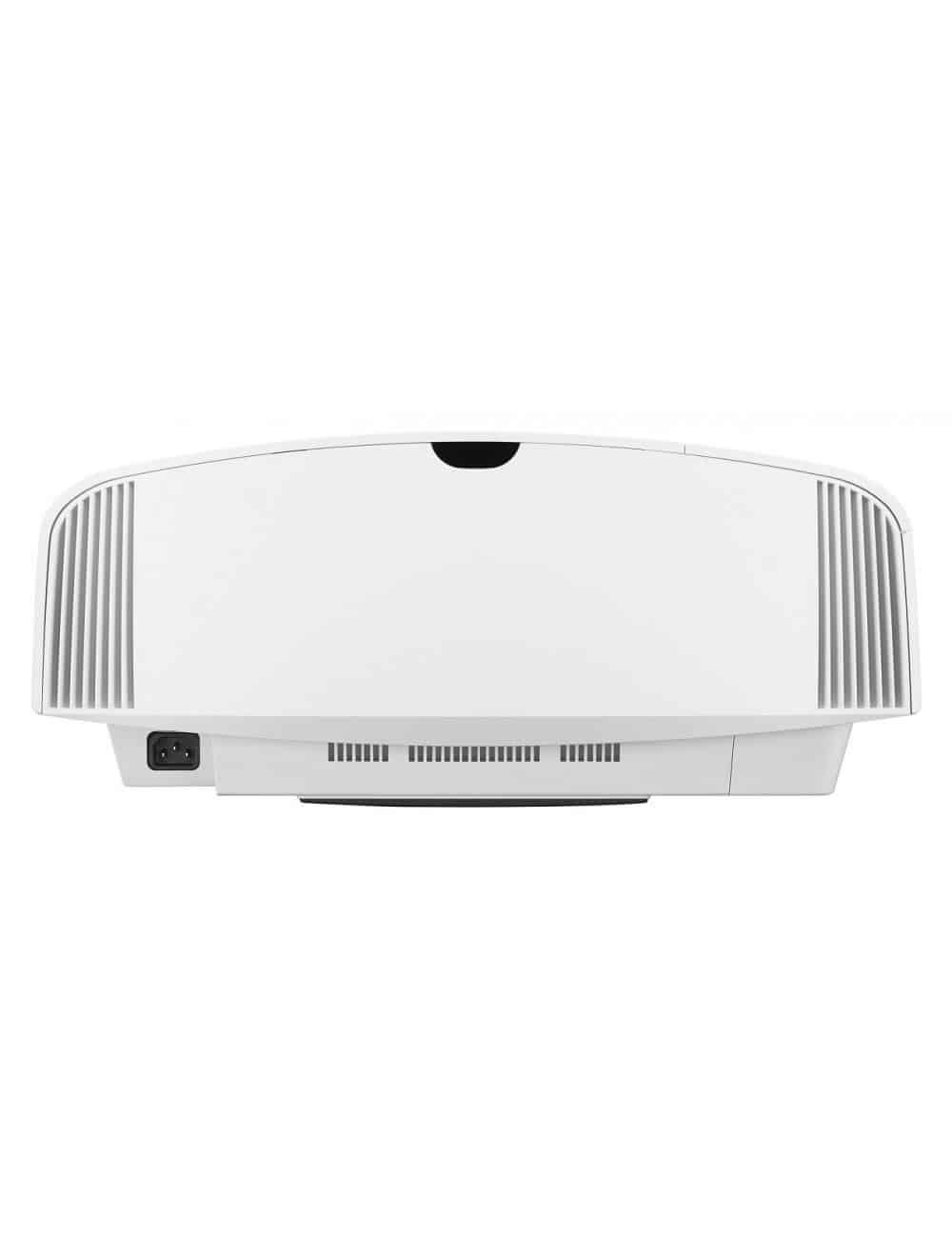 Proiettore 4K HDR per Home Cinema, Sony VPL-VW270ES, finitura white, vista posteriore