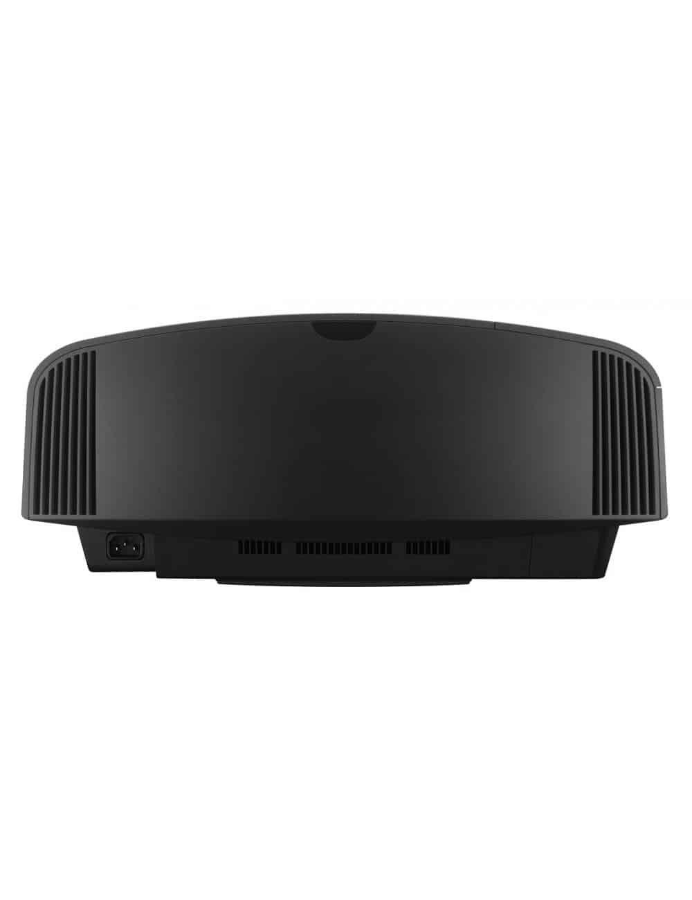 Proiettore 4K HDR per Home Cinema, Sony VPL-VW270ES, finitura black, vista posteriore