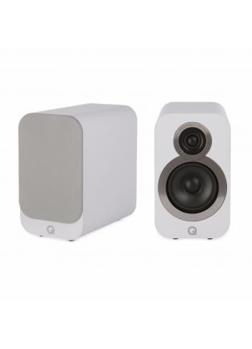 diffusori da scaffale a 2 vie ultra compatti HiFI e Home Cinema, Q Acoustics 3010i, finitura Arctic White