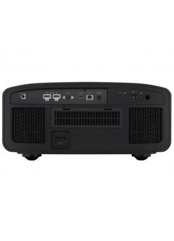 Proiettore 4K HDR D-ILA per Home Cinema, JVC DLA-N7B, finitura black, vista posteriore