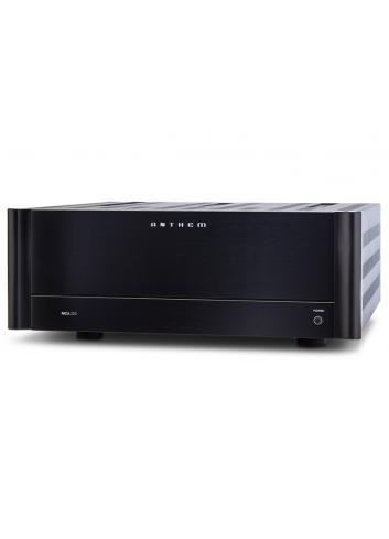 amplificatore di potenza a tre canali, Anthem MCA 325, vista frontale angolata