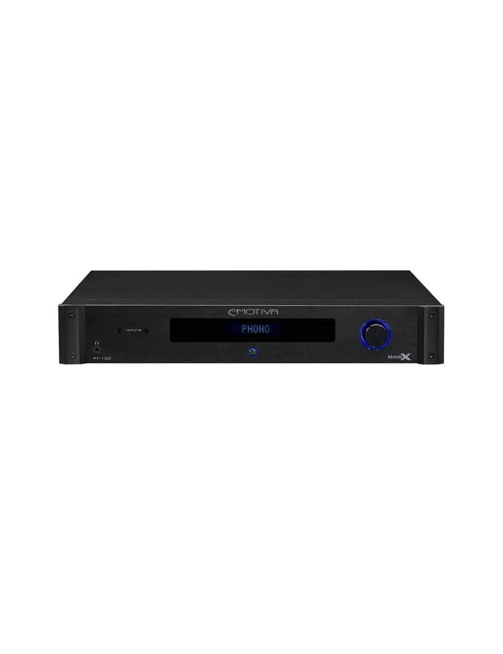 preamplificatore di linea HiFi stereofonico, Emotiva BasX PT-100