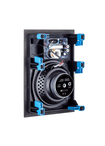 diffusore acustico da incasso a parete o a soffitto, Paradigm CI HOME H65-IW, vista posteriore